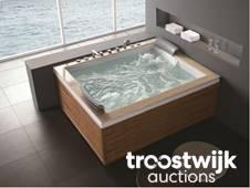 Outdoor spas, whirlpools, steam cabins - Online Auction - Troostwijk