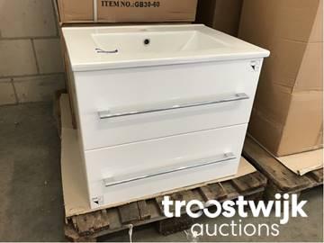 badkamer wastafel met onderkast - Troostwijk