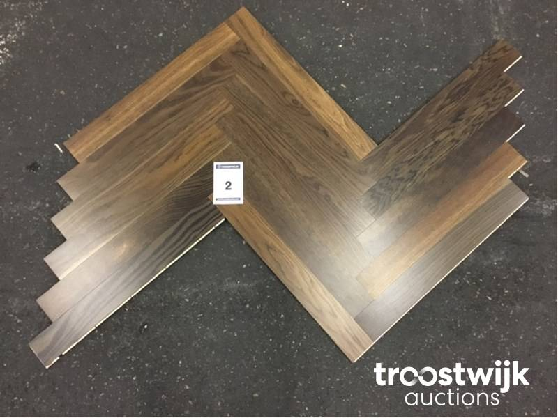 Parket En Laminaat : Various wooden parquet floors online auction troostwijk