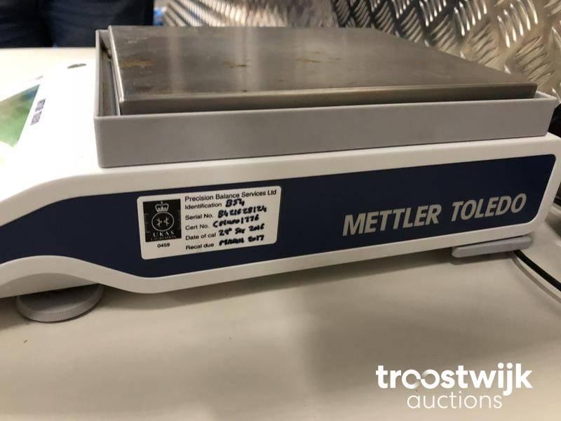 Mettler MF MS 1602S Precision scale - Troostwijk