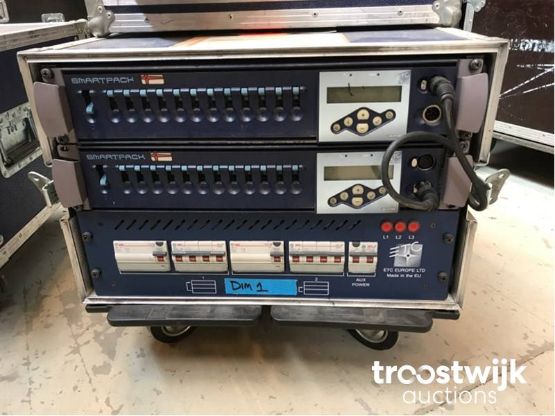 ETC europe Smartpack dimmer pack - Troostwijk