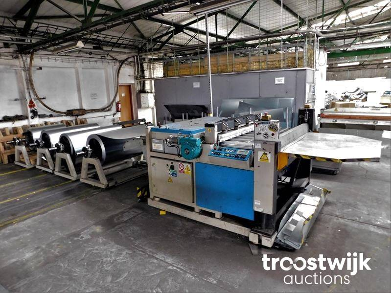 SWAH Line for the manufacture of HVAC Ductwork – LCP - Troostwijk