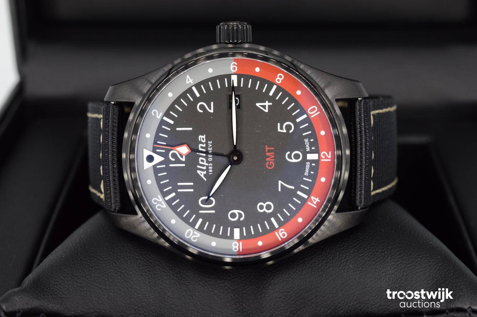 4b732bf486a5 Alpina Startimer Pilot reloj para hombres - Troostwijk