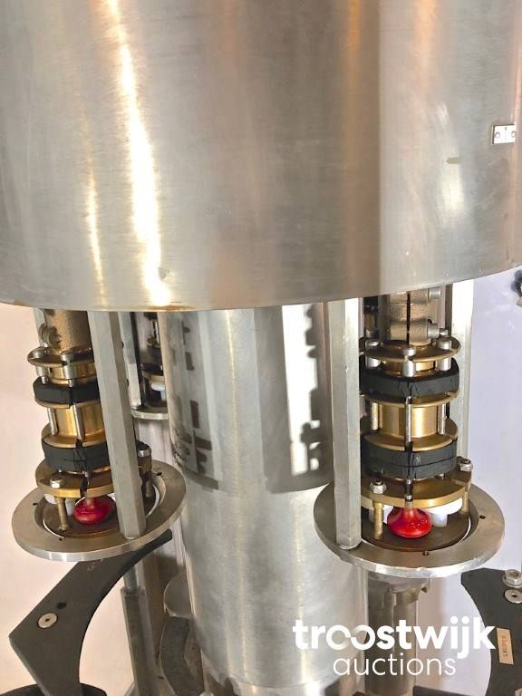 1995 ZALKIN TM1 4 rotary heads crimping machine - Troostwijk