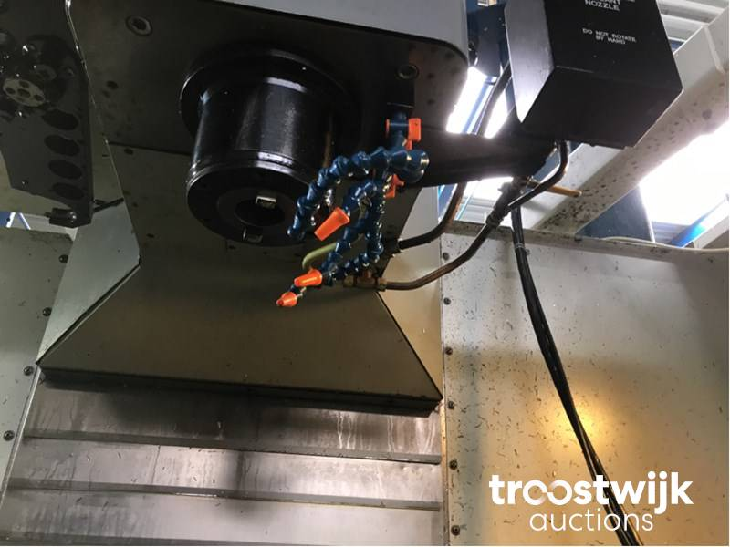 2001 Mikron/Haas VCE1250 CNC Machining Center - Troostwijk on