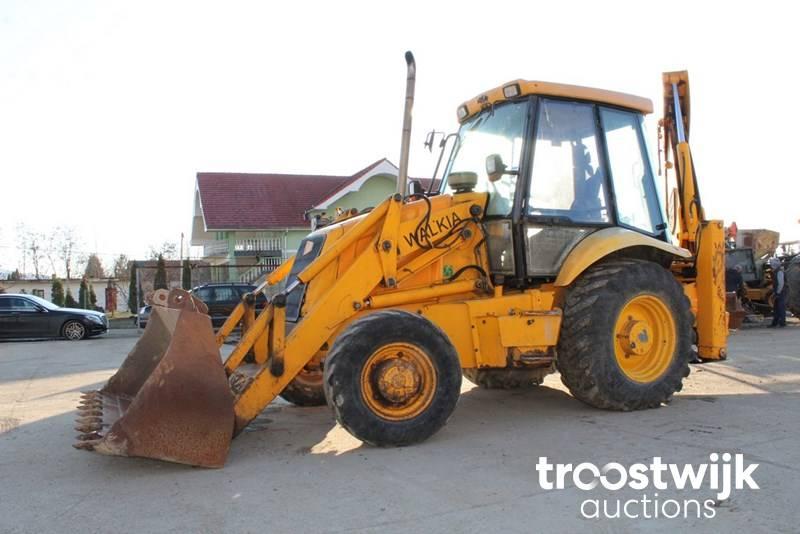 2002 JCB 3CX Backhoe loader - Troostwijk