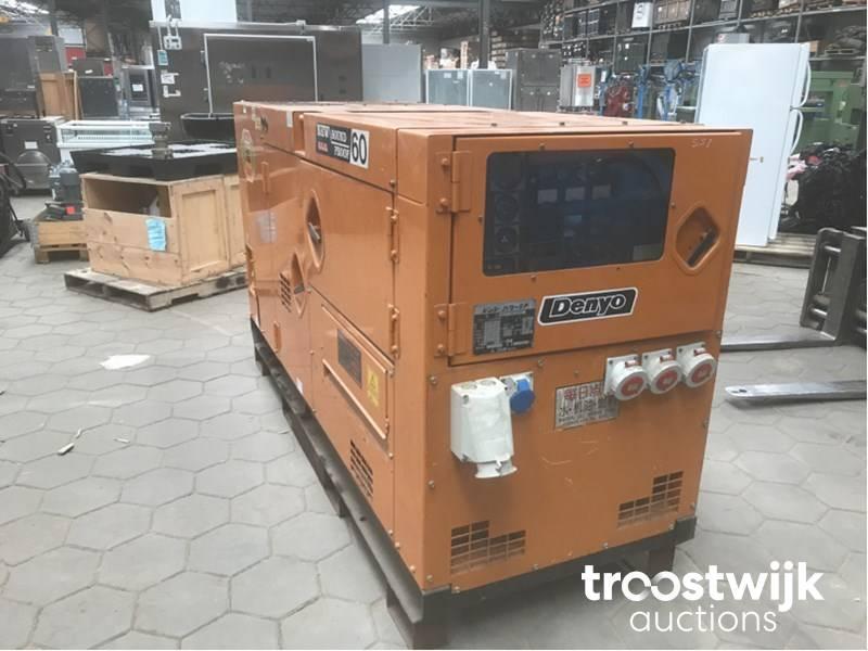 Denyo OCA-60 SPH diesel generator - Troostwijk
