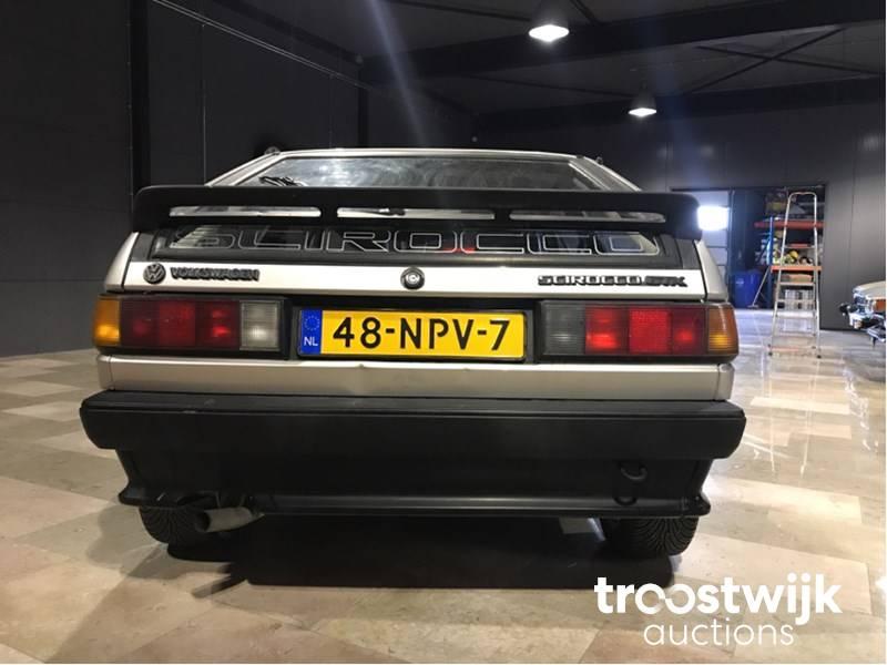 1985 Volkswagen Scirocco 1 8 GTX classic passenger car - Troostwijk