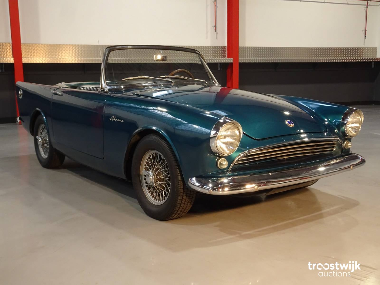 1960 Sunbeam Alpine Convertible Roadster Classic Passenger Car