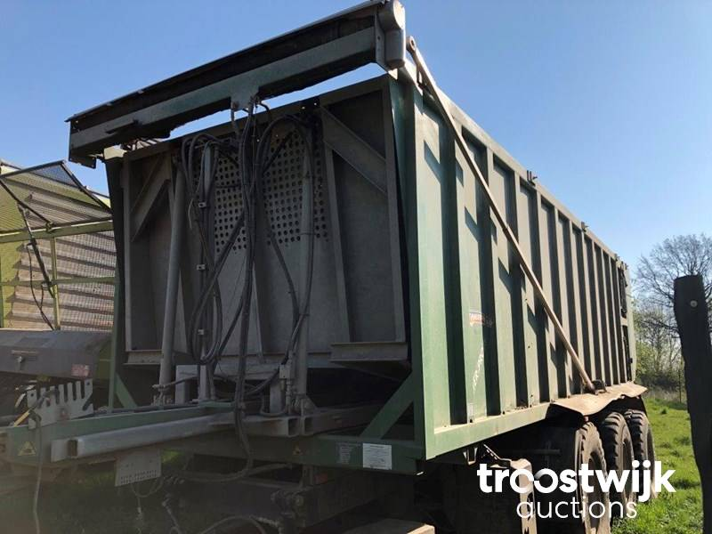 1 Demmler Tridem TSM 300 L push off trough - Troostwijk