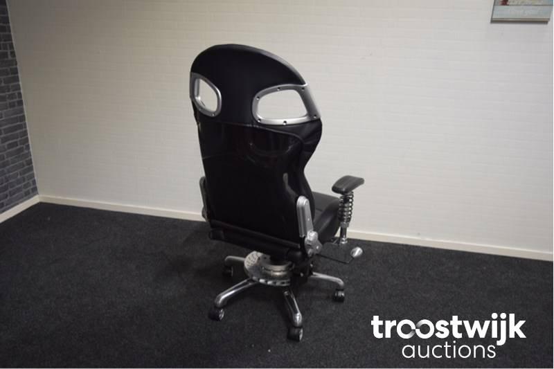 "Lxe Fiber"" 123grandprix Office ""carbon Chair De Chaise Bureau lcJTF1Ku3"