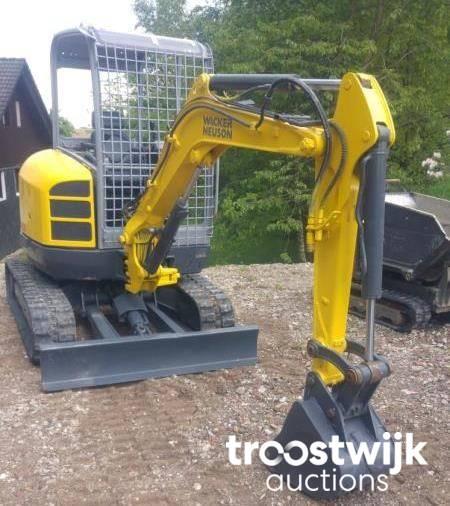 Wacker Neuson EZ28 mini-excavator - Troostwijk