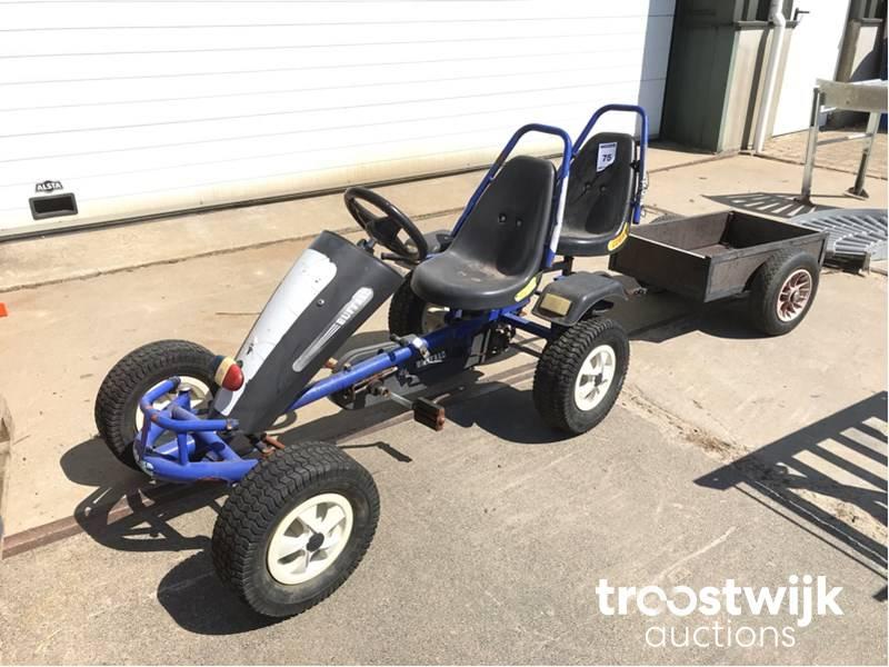 pedal go-kart 2-person - Troostwijk