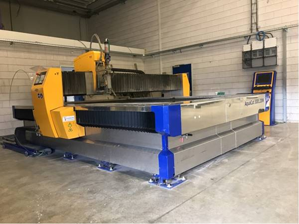 water jet cutting machine - Troostwijk
