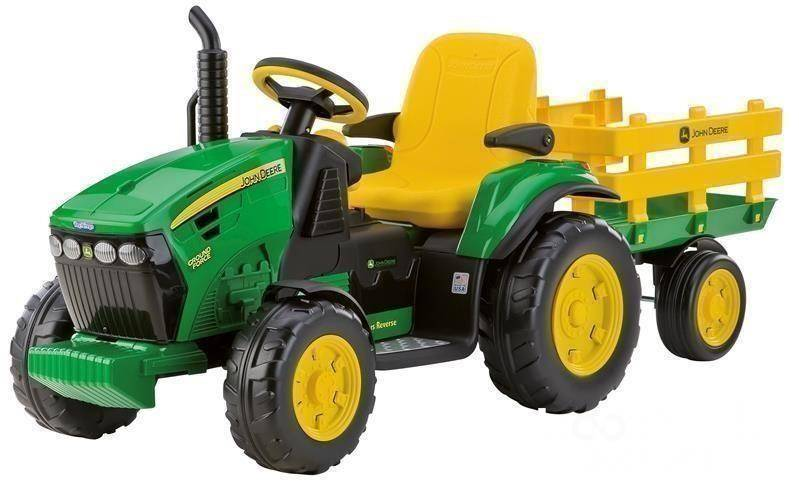 2019 John Deere Peg Perego Ground Force 12v battery tractor