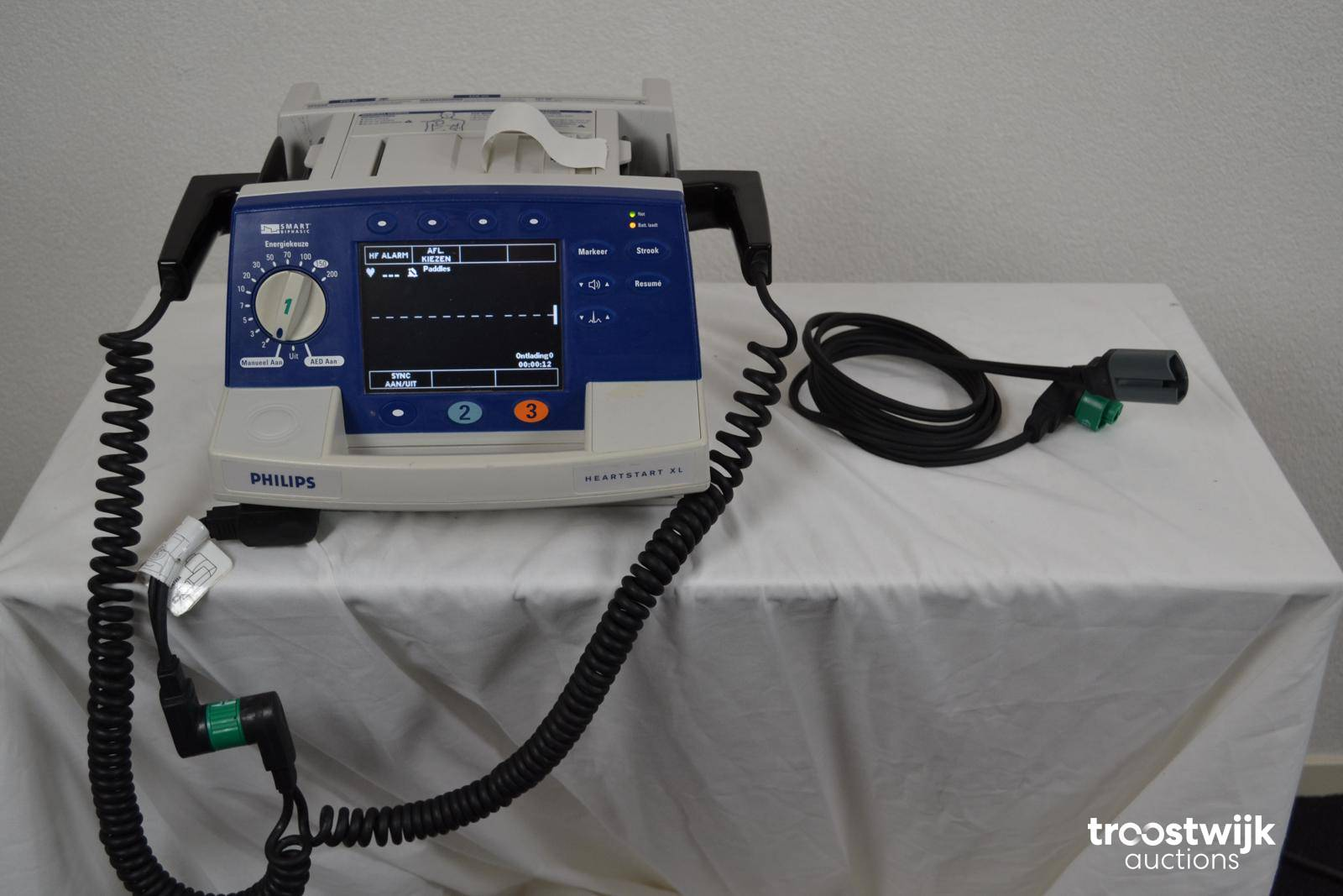 2008 Philips HeartStart XL defibrillator - Troostwijk