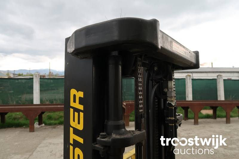 2007 Hyster H2 5FT Forklift - Troostwijk