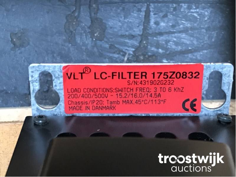 Danfoss VLT Filter Load Conditions 175Z0832