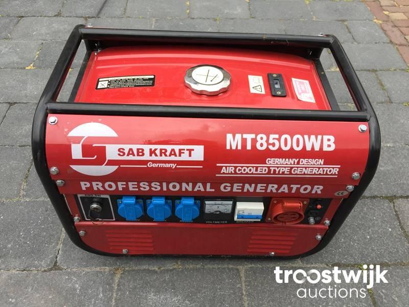 2019 genset / generator 230 + 380 V - Troostwijk