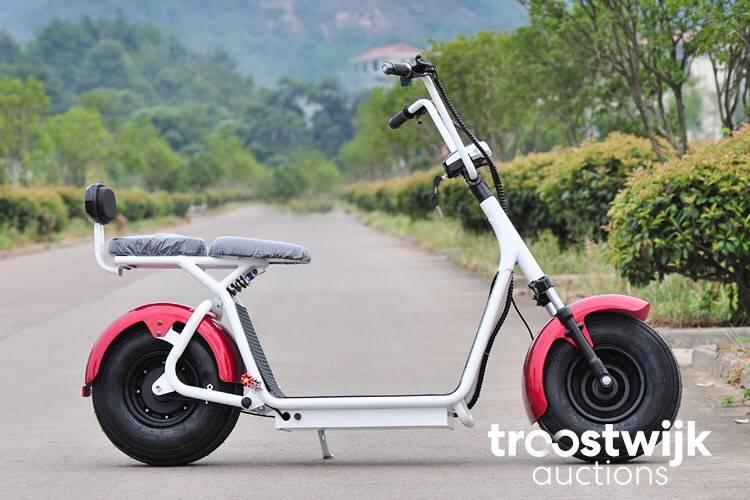 Wolf es8004iv electric chopper scooter black - Troostwijk