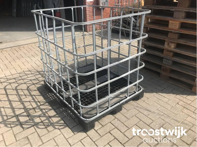 Onwijs palletboxen/IBC kratten - Troostwijk VH-67