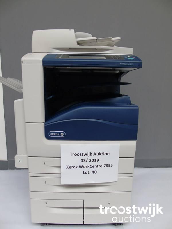 Xerox WorkCentre 7855 color laser printer - Troostwijk