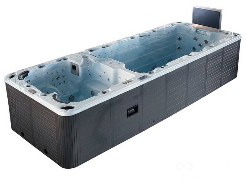 Luxury wellness LW-ZS-1850 swim spa with TV - Troostwijk