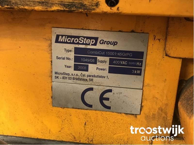 2008 Microstep Combicut 15001:45GrPG cnc cutting machine - Troostwijk