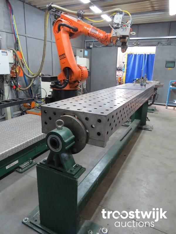2006 Kuka KR 60 HA CNC welding laser cell - Troostwijk