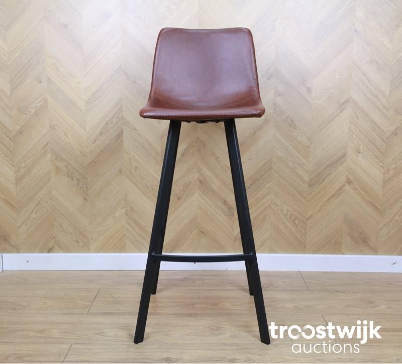 Enjoyable Brown Amsterdam Brown Industrial Bar Stool Troostwijk Ibusinesslaw Wood Chair Design Ideas Ibusinesslaworg