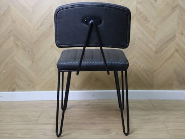 Brussels Anthracite Industrial Vintage Chair Troostwijk