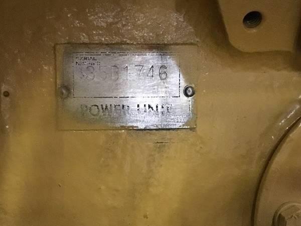 1988 Caterpillar D399 Marine Diesel Engine - Troostwijk