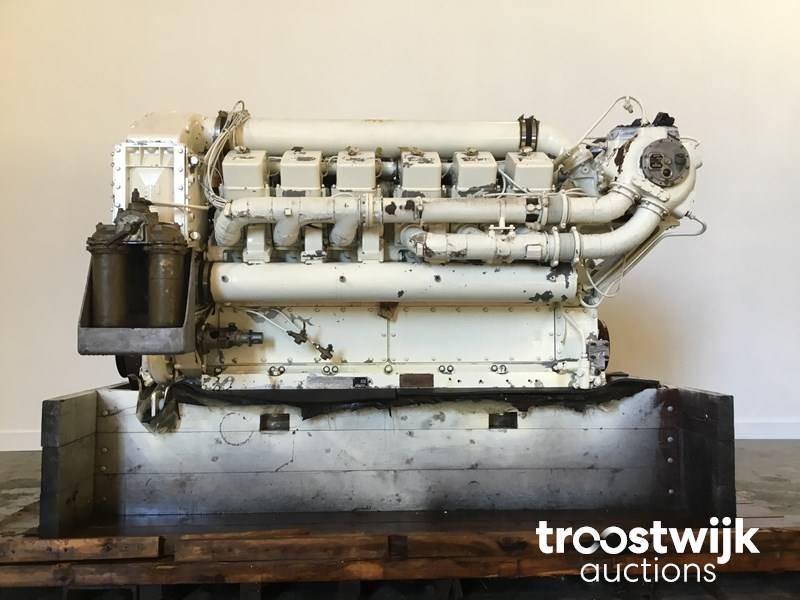 Paxman 12YHCAZ Marine Diesel Engine - Troostwijk