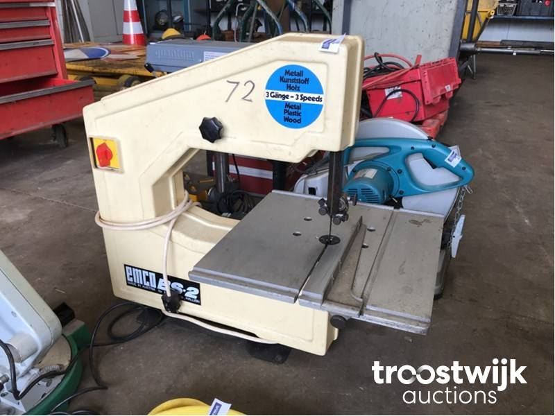 Emco BS-2 band saw machine - Troostwijk