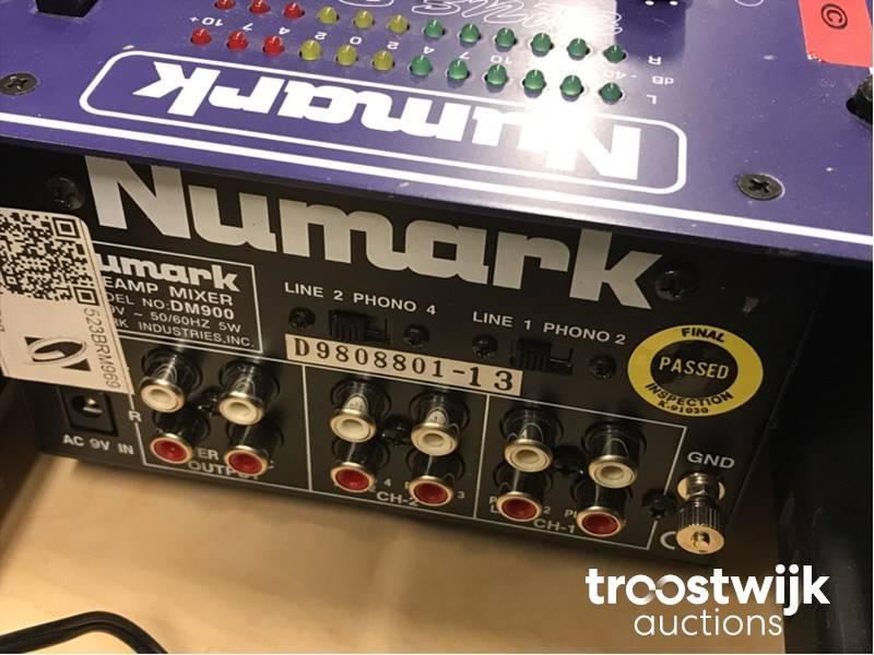 Numark Blue Dog audio mixer - Troostwijk