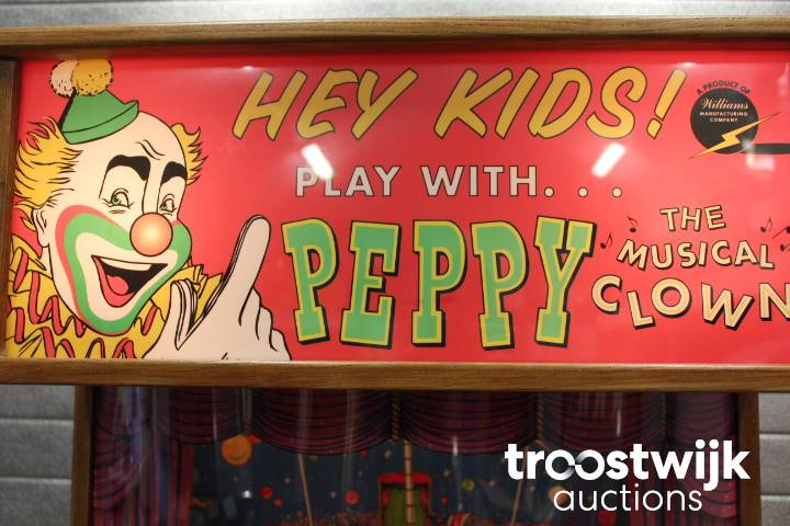 Williams Peppy the Clown animation arcade - Troostwijk