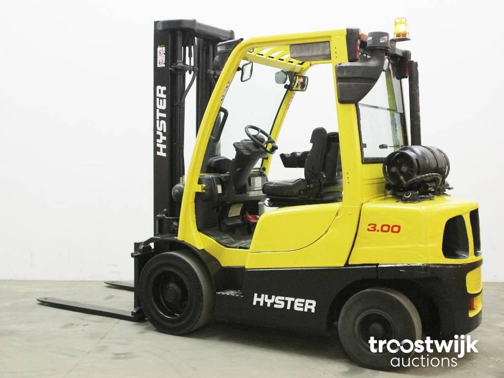 Hyster H3 0FT forklift truck truck LPG - Troostwijk