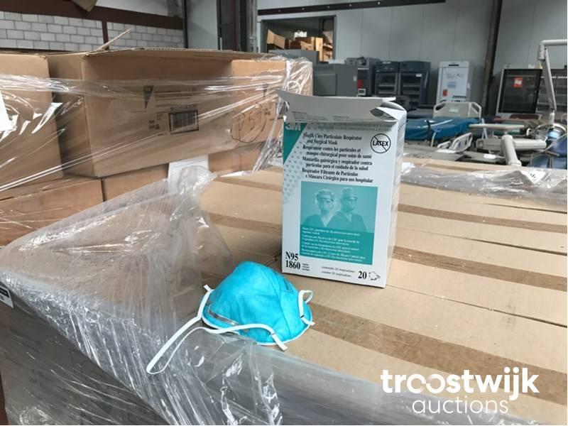 Medical - Troostwijk Boxes 1860 Health Masks Care N95