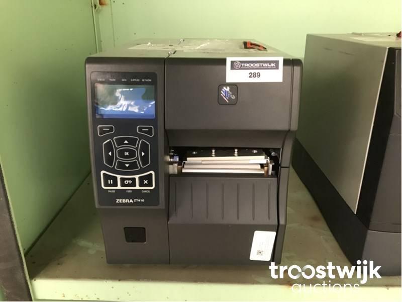 Zebra ZT410 laser Printer - Troostwijk