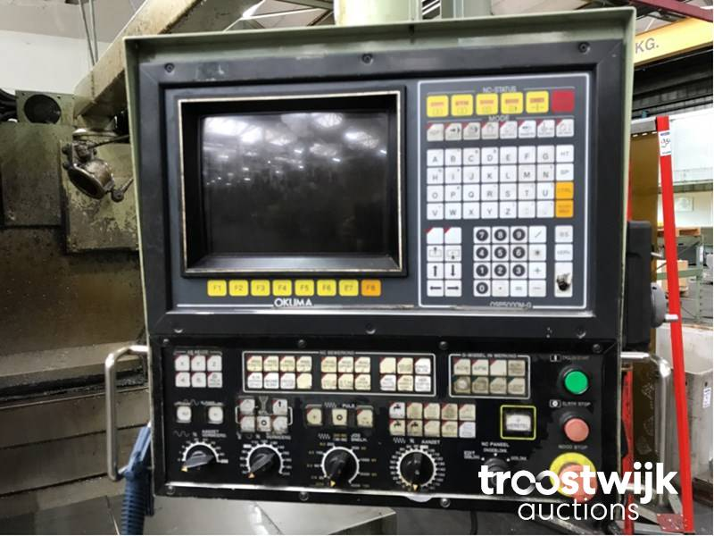 1987 Okuma MC-5VA CNC machining centre - Troostwijk