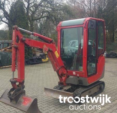 2010 Yanmar SV15 mini-excavator - Troostwijk