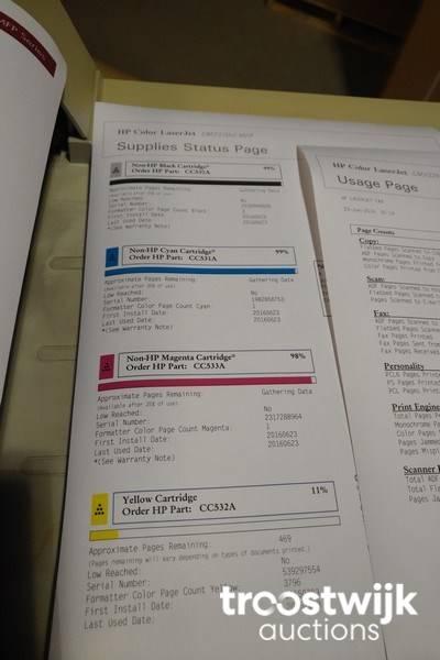 HP Laserjet CM2320nf MFP A4 color multifunction printer - Troostwijk