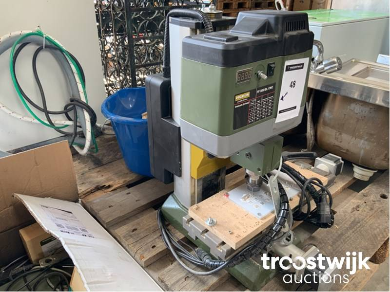 2016 Proxxon FF500/BL-CNC CNC milling machine with fine