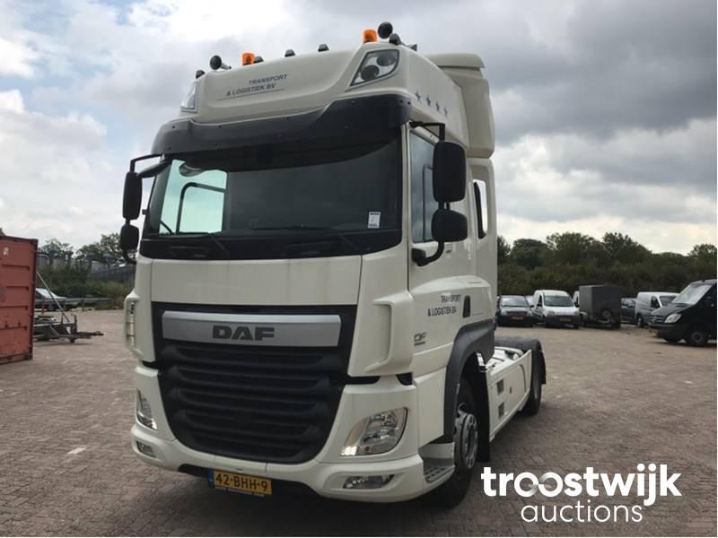 2016 DAF Cf 410 ft trailer truck - Troostwijk