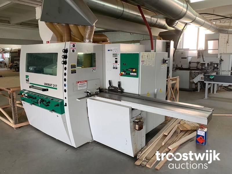 2012 Weinig Unimat 217 four sided moulding machine - Troostwijk