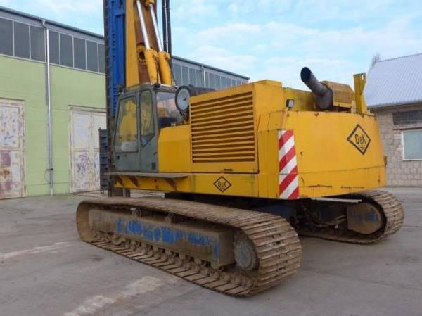 1993 Krupp KRB 19 auf O&K TGKL16 piling machine - Troostwijk