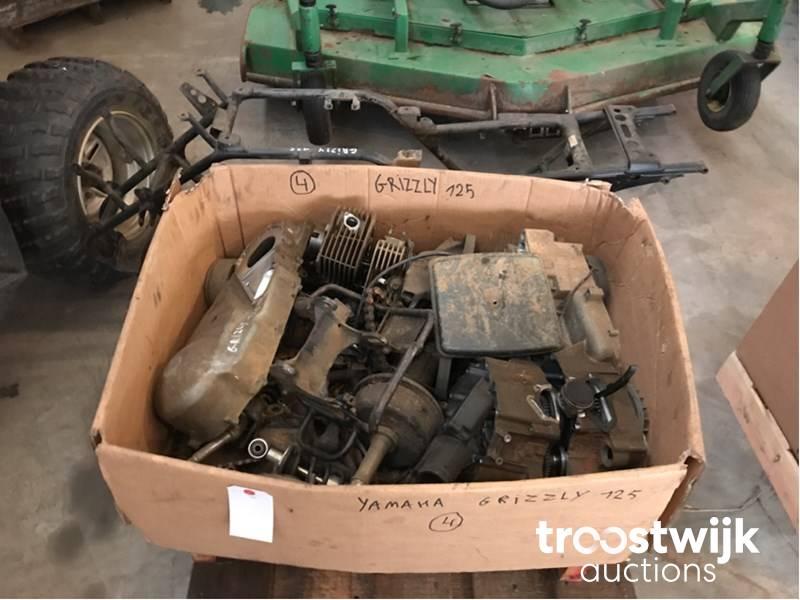 Yamaha Grizzly 125 lot of quad bike engine - Troostwijk