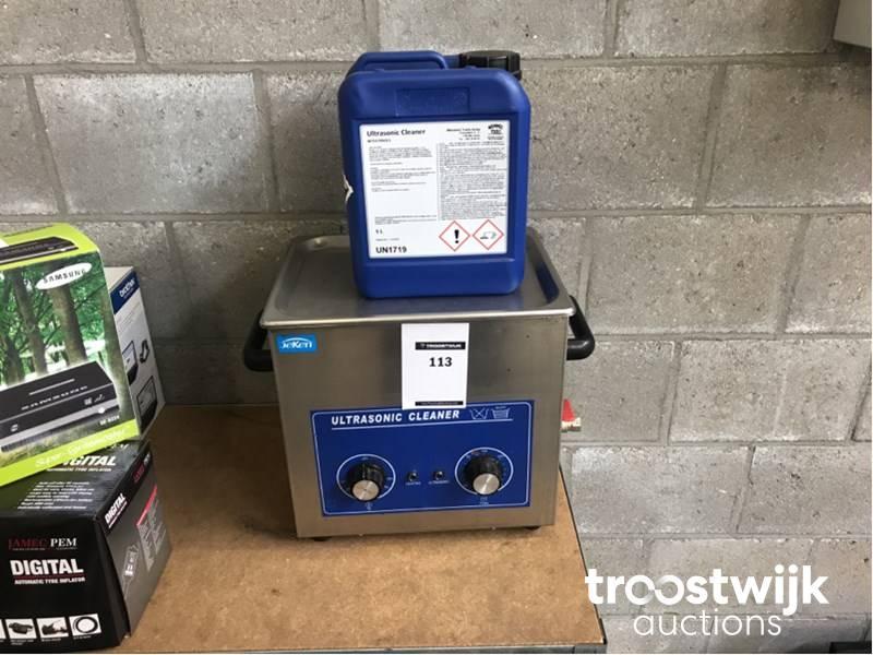 Jeken PS40 ultrasonic cleaning device - Troostwijk