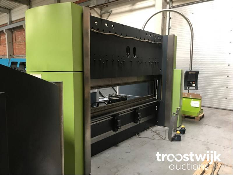 2008 Safan E-Brake 150-3100 TS1 CNC press brake - Troostwijk