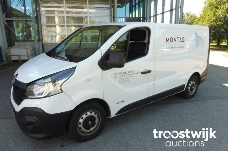 Renault Trafic Transporter Van Troostwijk